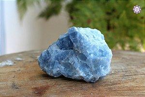 Calcita Azul Especial 379g | Pedra da Inspiração Criativa e Habilidades Mediúnicas
