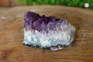 Drusa de Ametista 335g | Cristal de Proteção, Transmutação e Comunicação Divina