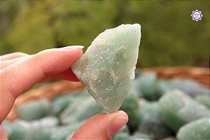 Quartzo Verde Bruto (de 20g a 29g a unidade) | Cristal de Cura e Limpeza Emocional