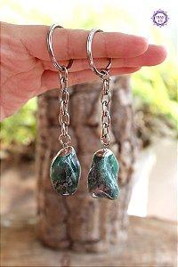 Chaveiro Esmeralda - Pedra de 2020 | Pedra do Amor Divino, Cura e Prosperidade
