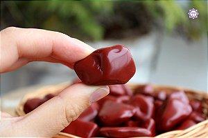 Jaspe Vermelho Rolado (de 2cm a 4cm a unidade) | Pedra da Memória e Energia Kundalini
