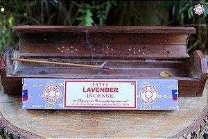 Incenso Importado Satya Lavanda caixa com 12 varetas
