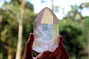 Cristal Lemuriano Especial 278g com 9,5 cm | Cristal de Ligação com o Sagrado Feminino e Unidade com a Alma