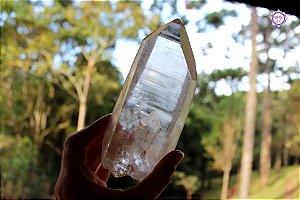 Cristal Lemuriano Especial 464g com 14 cm | Cristal de Ligação com o Sagrado Feminino e Unidade com a Alma