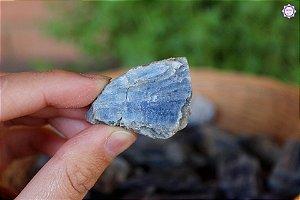 Cianita Azul (3 a 5 cm a unidade) | Pedra da Telepatia, Recordação de Vidas Passadas e Arcanjo Miguel
