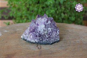 Drusa de Ametista 252g | Cristal de Proteção e Transmutação de Energias