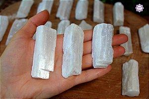 Selenita (5 a 6 cm a unidade) | Pedra de Ativação Espiritual