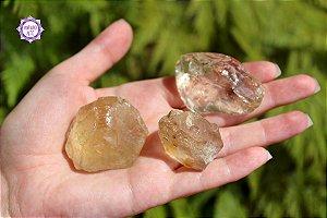 Citrino Natural Pedra Bruta aprox. 25g | Cristal da Prosperidade, Abundância e Manifestação!