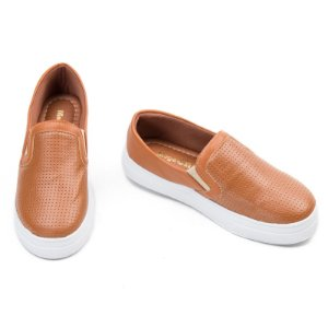 Slip On Marrom Confort  MegaChic