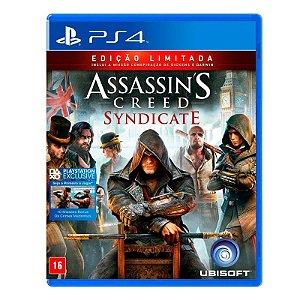 Jogo Assassin's Creed Syndicate (Edição Limitada) - PS4