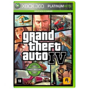 Jogo Grand Theft Auto IV ( GTA 4 ) - Xbox 360