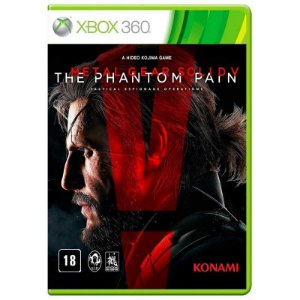 Jogo Metal Gear Solid V Phantom Pain Xbox 360 e Xbox One