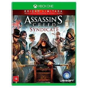 Jogo Assassins Creed Syndicate ( Edição Limitada ) - Xbox One