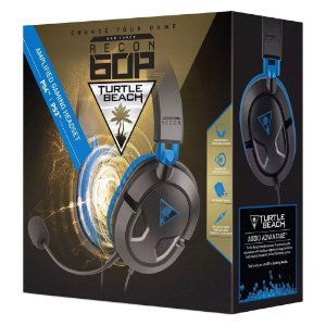 Fone Headset Turtle Beach Recon 60p - Ps4 Ps3 Xbox One Pc