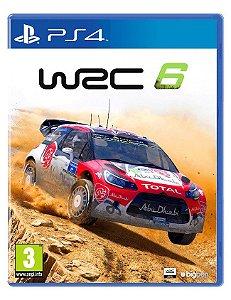 Jogo WRC 6 FIA World Rally Championship Ps4