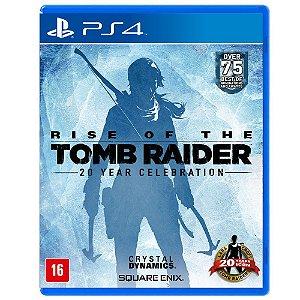 Jogo Rise Of The Tomb Raider 20 Year Celebration - Ps4