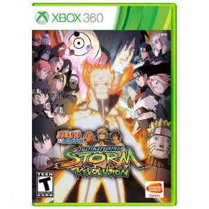 Jogo Naruto Shippuden Ultimate Ninja Storm Revolution Xbox 360