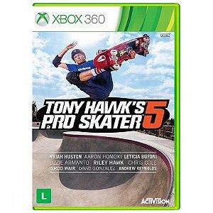 Jogo Tony Hawks Pro Skater 5 - Xbox 360