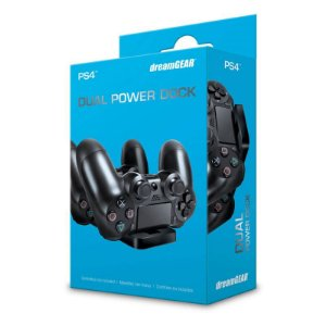 Carregador Ps4 Dream Gear Dual Power Dock Para Controle Ps4
