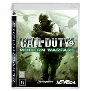 Jogo Call of Duty 4 Modern Warfare - PS3