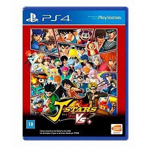 Jogo J-Stars Victory VS+ PS4 (Inclui Goku - Naruto - Gon - Luffy)