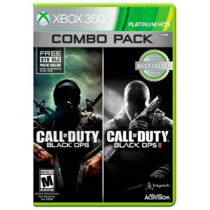 Jogo Call of Duty: Black Ops 1 + Call of Duty: Black Ops 2 (Combo Pack) - Xbox 360