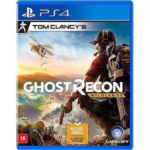 Jogo Tom Clancys: Ghost Recon Wildlands - PS4