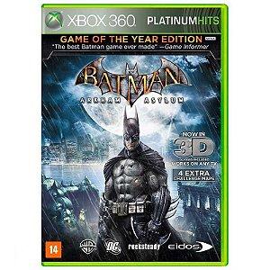 Jogo Batman: Arkham Asylum ( GOTY ) - Xbox 360