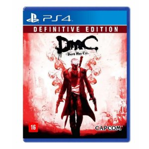 Jogo DmC Devil May Cry ( Definitive Edition ) - PS4