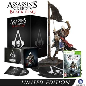 Jogo Assassins Creed IV Black Flag ( Limited Edition ) - Xbox 360
