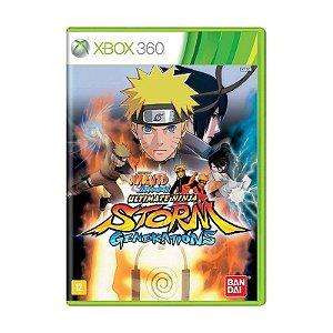 Jogo Naruto Shippuden Ultimate Ninja Storm Generations Xbox 360