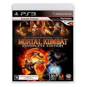 Jogo Mortal Kombat (Komplete Edition) - PS3