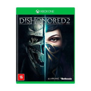Jogo Dishonored 2 Xbox One Midia Física