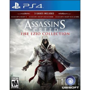 Jogo Assassins Creed Ezio Collection - PS4