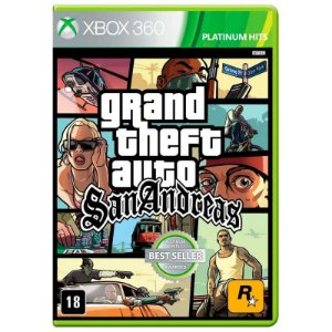 Jogo Grand Theft Auto San Andreas ( GTA ) - Xbox 360