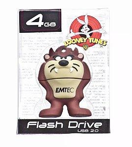 Pen Drive Looney Tunes Taz Mania 4gb Emtec