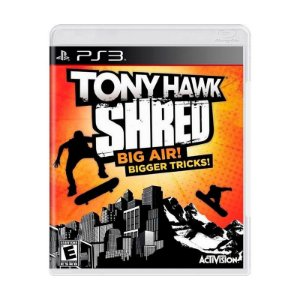 Jogo Tony Hawk Shred Big Air Bigger Tricks - PS3