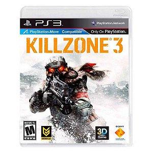 Jogo Killzone 3 Ps3 Dublado e Legendado em Português