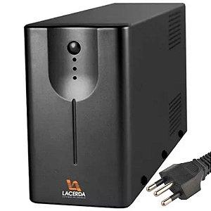 Nobreak Lacerda UPS New Orion Premium 600VA Bivolt AUT. S115V 3 Tomadas 010062111-E13
