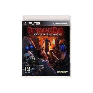 Jogo Resident Evil Operation Raccoon City Ps3