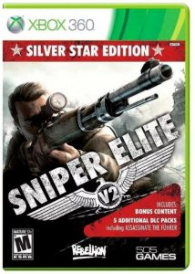 Jogo Sniper Elite V2 Silver Star Edition Xbox 360 e Xbox One