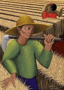 """""""Ceifadores"""", pintura digital"""