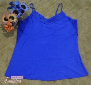 Blusa Azul Tamanho M