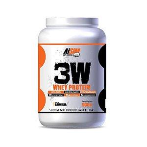 3W Whey Protein (900G) - AISIM Suplementos