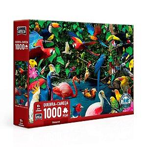 Quebra-Cabeça Pássaros 1000 Peças