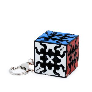 Chaveiro Cubo Mágico Gear Cube 3x3x3 Qiyi - 3,5 cm