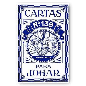 Baralho Copag 139 Retrô Azul