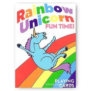 Baralho Rainbow Unicorn Fun Time
