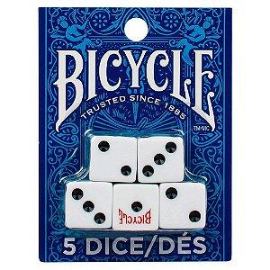 Cartela com 5 dados Bicycle