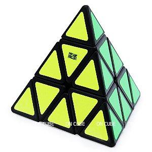 Cubo Mágico Pyraminx Moyu Jinzita Preto